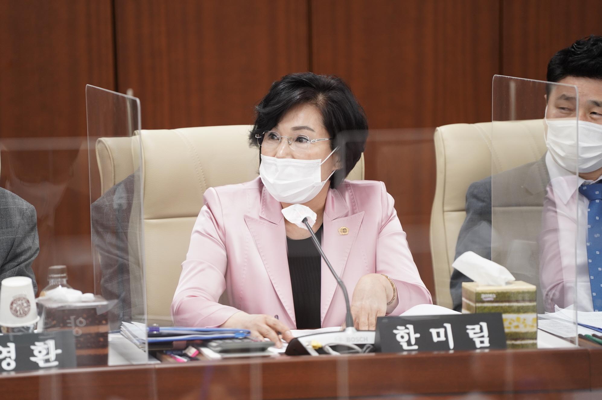한미림 의원, 소방공무원 정신건강증진 조례안 상임위 통과