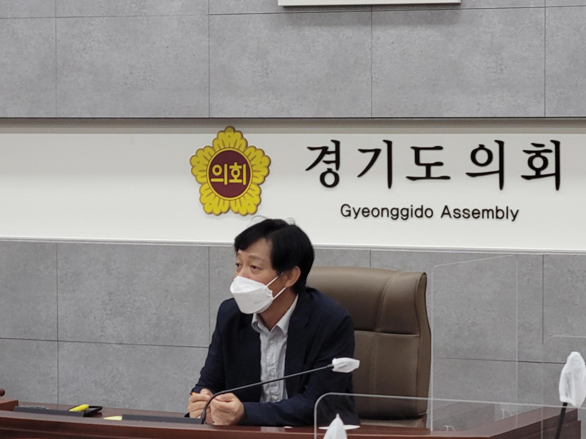 박세원 의원, 초등돌봄교실 확대운영 정담회 개최
