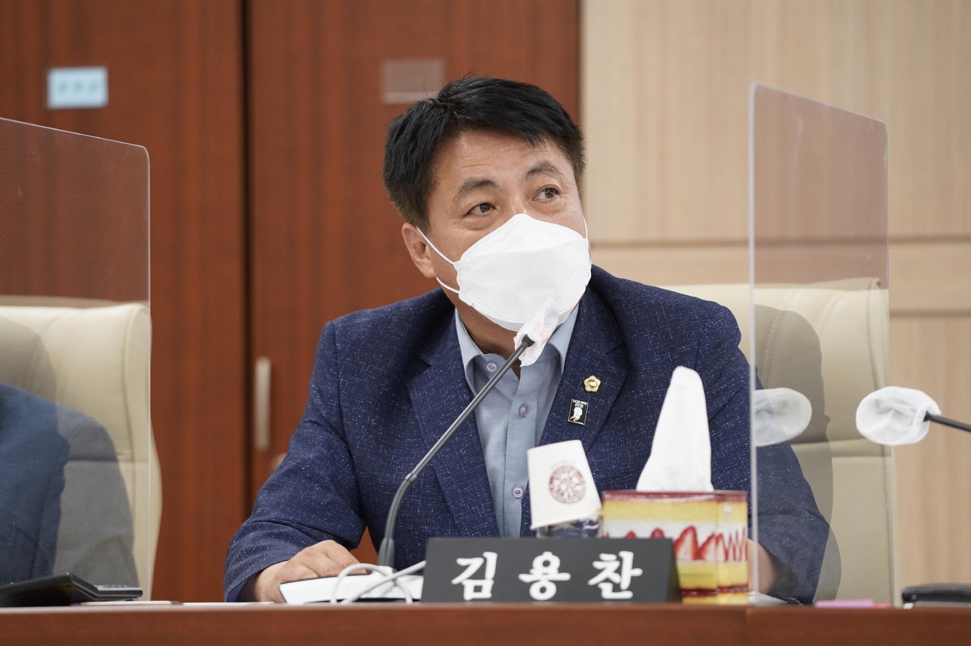 김용찬 의원, 경기도 공용차량 자동차보험 자기부담금 지원 조례안 상임위 통과